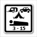 osoba nocující v autě / karavanu / stanu mladší 15 let