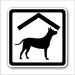 pes v chatě nebo pokoji
